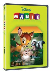 DVD - Bambi (edice Disney mánie)