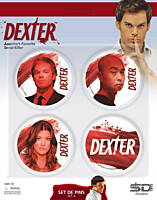 Dexter - placky 4ks set A