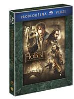BD - Hobit: Šmakova dračí poušť - Prodloužená verze (3 Blu-ray)