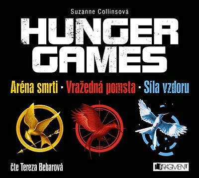 Hunger Games - komplet (2x MP3 CD)
