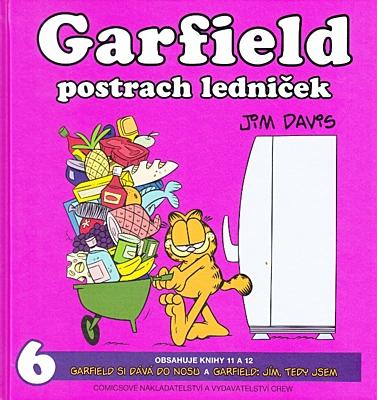 Garfield postrach ledniček