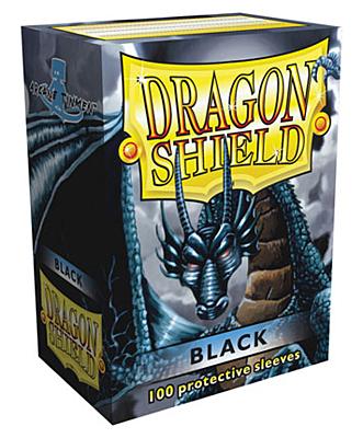 Dragon Shield - Obaly Standard Black 100ks