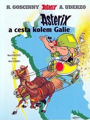 Asterix 05: Asterix a cesta kolem Galie (5. vydání)