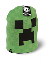 Minecraft - čepice Creeper Face