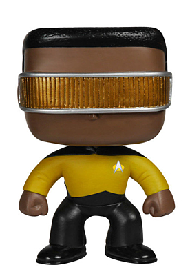 Star Trek TNG - Geordi La Forge POP Vinyl Figure