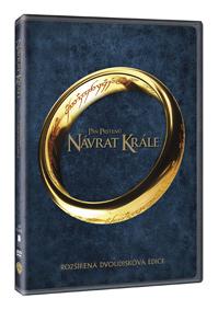 DVD - Pán prstenů 3: Návrat krále - rozšířená edice (2 DVD)