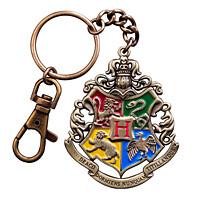 Harry Potter - kovová klíčenka Bradavický erb (7681)