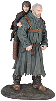 Game of Thrones - Hodor a Bran PVC Statue 23cm