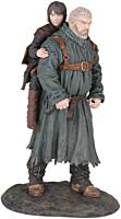 Game of Thrones - Hodor a Bran PVC Statue 23cm
