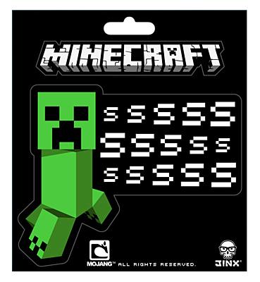Minecraft - samolepky Creeper SSSsss