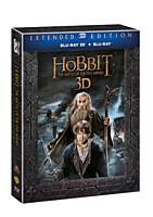 BD - Hobit: Bitva pěti armád - Prodloužená verze (5 Blu-ray 3D+2D)