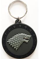 Game of Thrones - Gumová klíčenka Stark