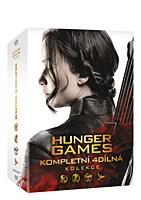 DVD - Hunger Games kolekce 1-4 (4 DVD)