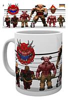 Doom - Hrnek Classic Enemies