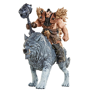 WarCraft - Lothar vs Blackhand Mini Figure Set