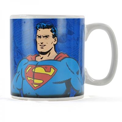 Superman - Měnící se hrnek Classic Clark Kent
