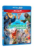 BD - Zootropolis: Město zvířat (2 Blu-ray 3D+2D)