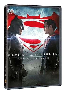 DVD - Batman vs. Superman: Úsvit spravedlnosti