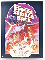 Star Wars - plechová cedule Empire Strikes Back 30x42cm