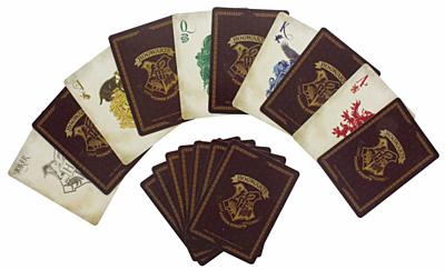 Harry Potter - Hrací karty Bradavice