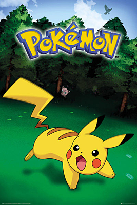 Pokémon - Plakát Pikachu Catch 61x91cm
