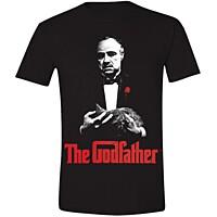Kmotr (Godfather) - Tričko Poster Print černé L