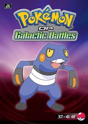 DVD - Pokémon: Diamond and Pearl - Galactic Battles 08 (epizody 37-41)
