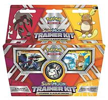 Pokémon: Sun and Moon Trainer Kit - Lycanroc and Alolan Raichu - Starter pro 2 hráče