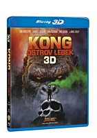 BD - Kong: Ostrov lebek (2 Blu-ray 3D + 2D)