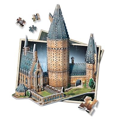 Harry Potter - 3D Puzzle - Great Hall