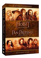 DVD - Kolekce Středozemě (kinoverze) (6 DVD)