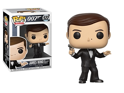 James Bond - Spy Who Loved Me (Roger More) POP Vinyl Figure