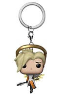 Overwatch - Mercy POP Vinyl klíčenka