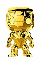 Marvel Studios 10 - Iron Man Chrome POP Vinyl Figure
