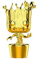 Marvel Studios 10 - Groot Chrome POP Vinyl Figure