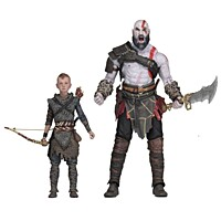 God of War - Kratos and Atreus 2-pack Ultimate Action Figures (49326)