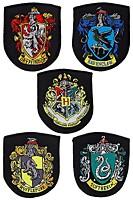 Harry Potter - Sada 5 nášivek - Erby kolejí