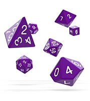 Sada 7 RPG kostek - Solid Purple
