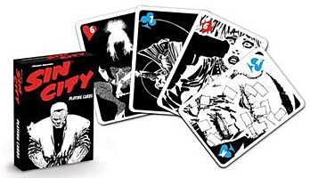 Sin City: A Dame To Kill For - Hrací karty