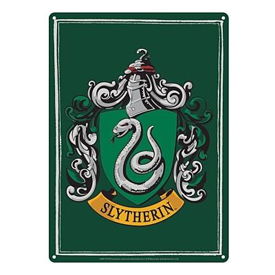 Harry Potter - Plechová cedule Zmijozel (Slytherin) 21x15 cm