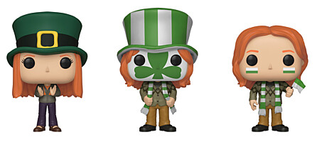 Harry Potter - Ginny, Fred and George 3-pack ECCC 2019 Exclusive Limited POP Vinyl Figure