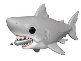 Jaws - Great White Shark with Diving Tank POP Vinyl Figure