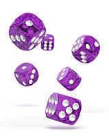 Sada 12 kostek D6 - Speckled Purple (16 mm)