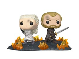 Game of Thrones - Daenerys and Jorah at the Battle of Winterfell POP Vinyl Figure