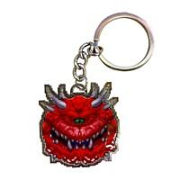 Doom - kovová klíčenka Cacodemon Limited Edition 4 cm