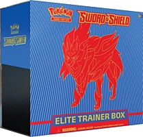 Pokémon: Sword and Shield Elite Trainer Box - Zamazenta