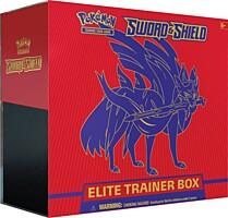 Pokémon: Sword and Shield Elite Trainer Box - Zacian