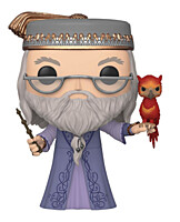 Harry Potter - Albus Dumbledore with Fawkes Super Sized POP Vinyl Figure