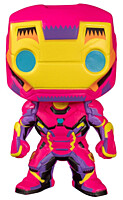 Marvel - Iron Man Black Light POP Vinyl Bobble-Head Figure