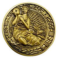 Resident Evil 2 - Maiden Medallion Replica 1/1